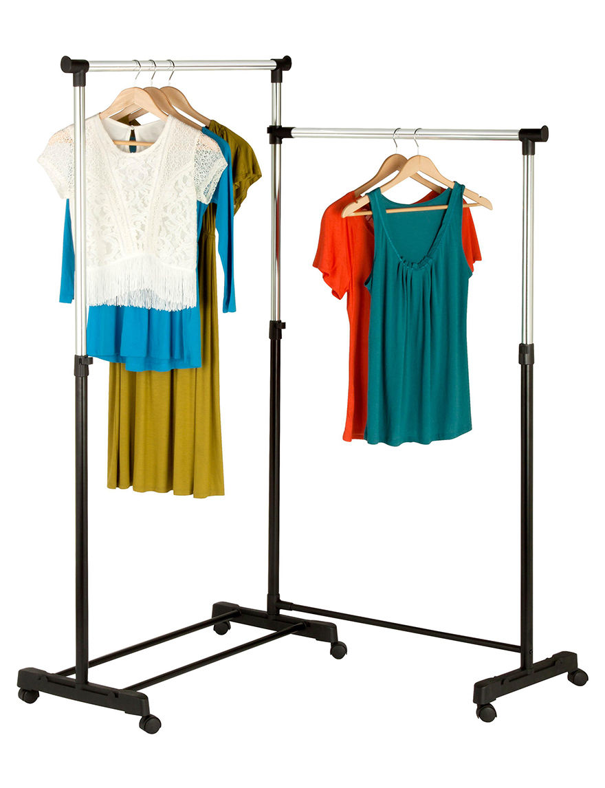 Honey-Can-Do International Chrome Garment & Drying Racks Storage & Organization