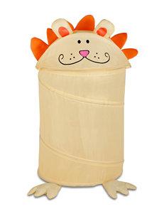 Honey-Can-Do International Yellow Laundry Hampers Storage & Organization