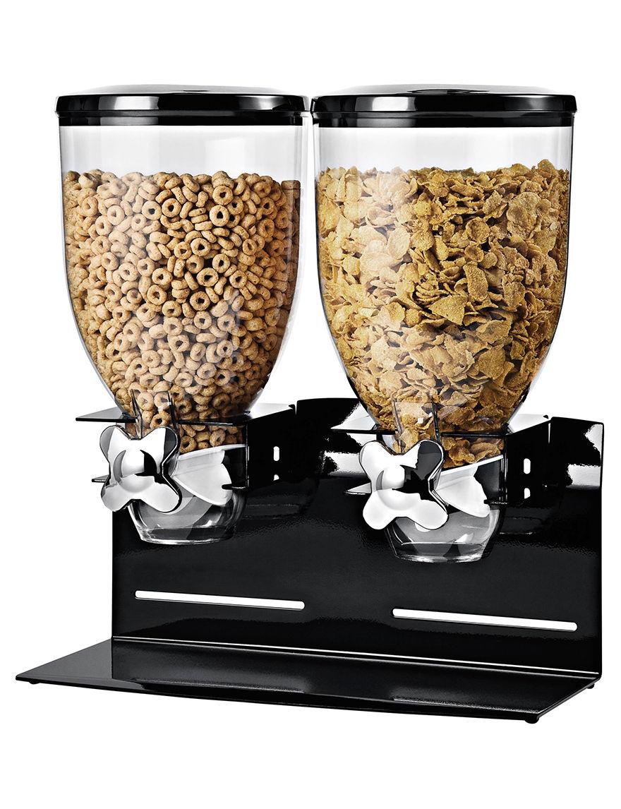 Honey-Can-Do International Black Beverage Dispensers & Tubs Kitchen Storage & Organization