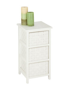 Honey-Can-Do 3 Drawer Double Woven Storage Chest