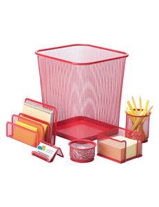 Honey-Can-Do International Red School & Office Supplies