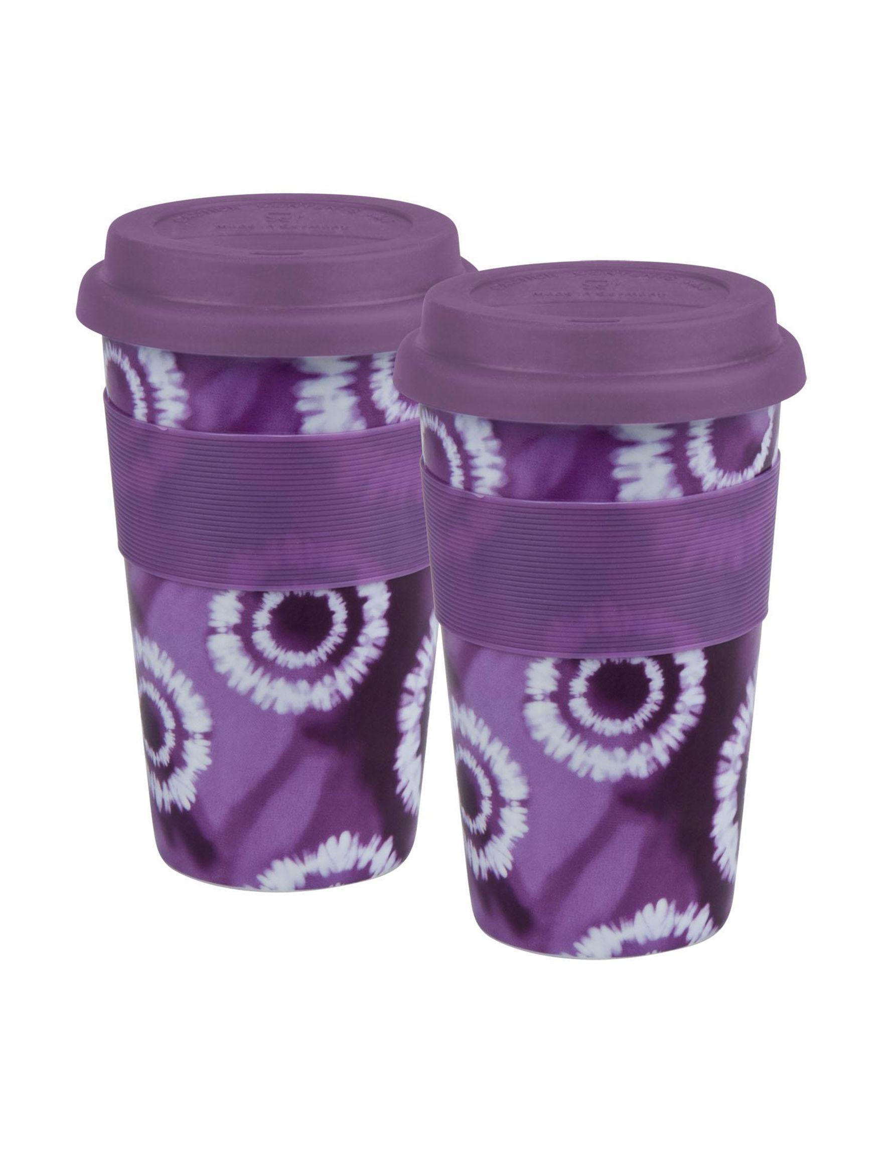 Konitz Purple Mugs Drinkware