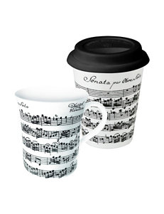 Konitz Black Mugs Drinkware