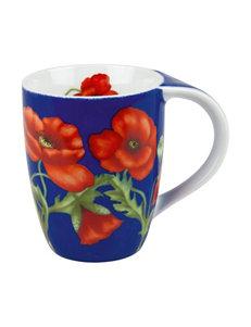 Konitz 4-pk. Poppy Blossom Mugs