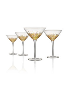 Artland Gold Wine Glasses Drinkware