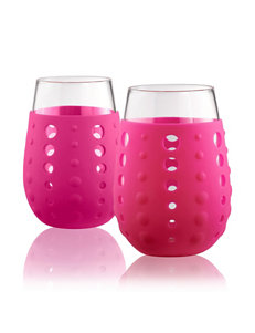 Artland Pink Wine Glasses Drinkware