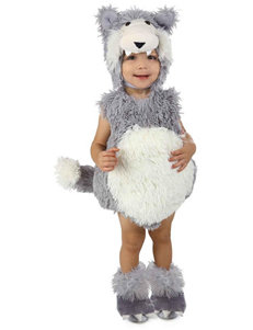 3-pc. Vintage Wolf Costume - Baby & Toddler
