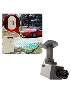 Trademark Home Driveway Patrol & Rotating Imitation Security System