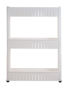 Chef Buddy White Storage Shelves Storage & Organization