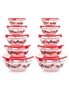 Chef Buddy Red Food Storage Kitchen Storage & Organization