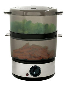 Chef Buddy Black Pressure Cookers, Rice Cookers & Steamers Kitchen Appliances