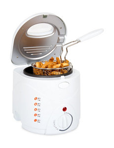 Classic Cuisine White Fryers Kitchen Appliances