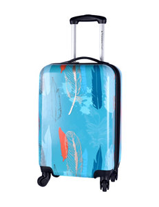 Travelers Club Luggage Teal Luggage Sets