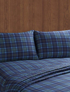 Remington Blue Sheets & Pillowcases