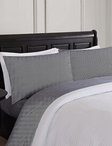 London Fog Black /  White Sheets & Pillowcases