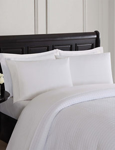 London Fog White Sheets & Pillowcases
