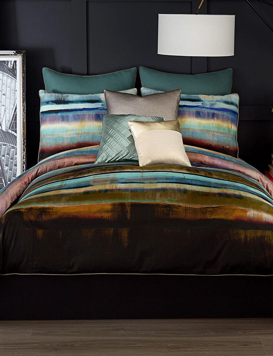 Vince Camuto Green Comforters & Comforter Sets