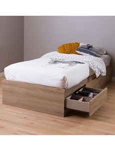 South Shore Rustic Beds & Headboards Bedroom Furniture