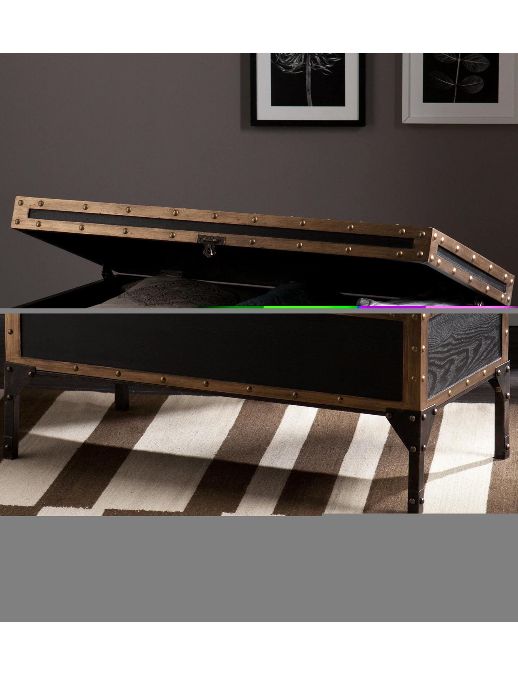 Southern Enterprises Black Coffee Tables Living Room Furniture