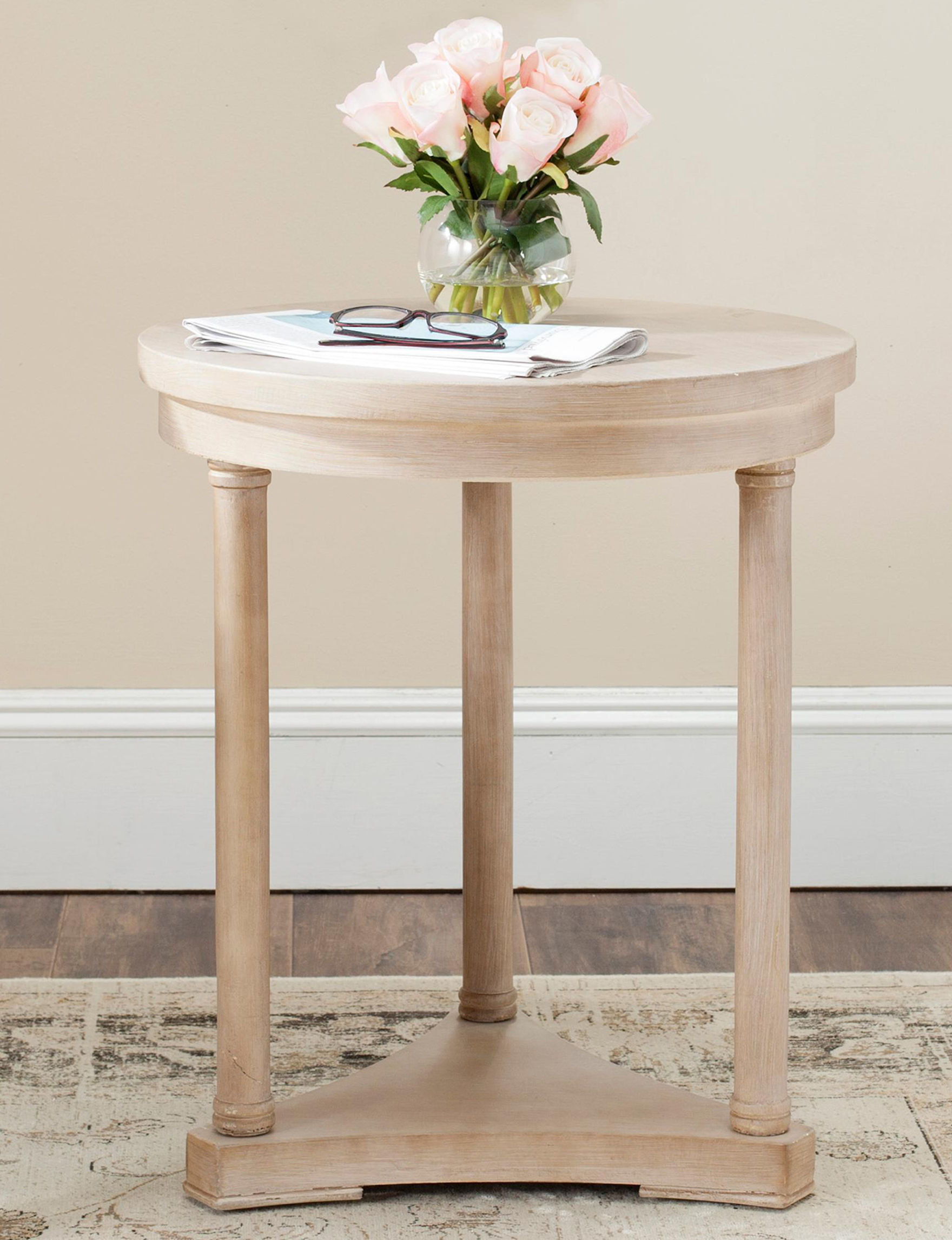 Safavieh Natural Accent & End Tables Living Room Furniture