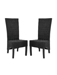 Safavieh 2-pc. Siesta Wicker Side Chair Set