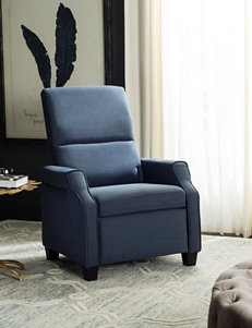 Safavieh Navy Accent Chairs Living Room Furniture