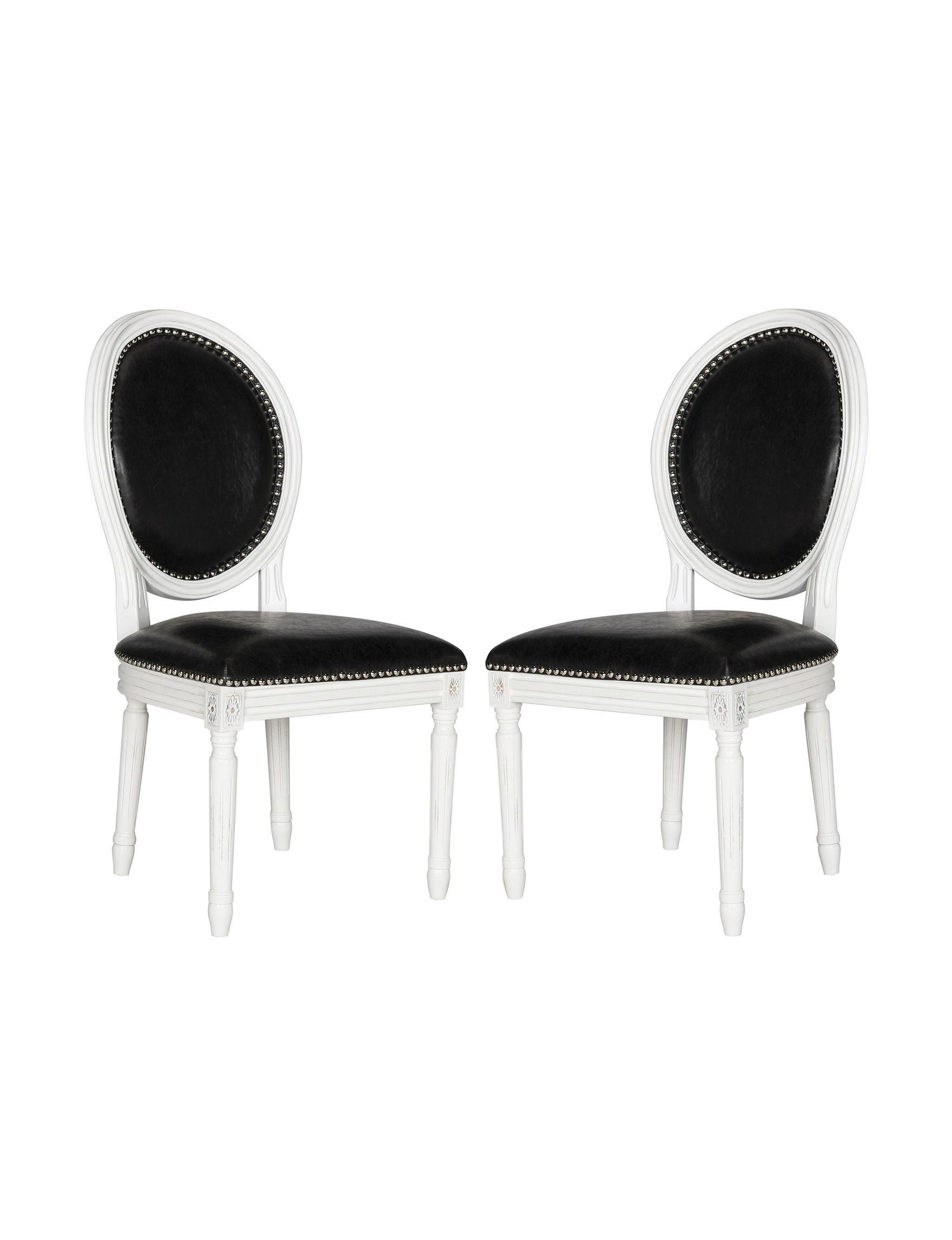 Safavieh Black Dining Chairs Kitchen & Dining Furniture