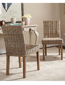 Safavieh 2-pk. Grove Rattan Side Chairs