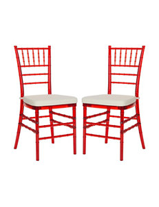 Safavieh Red Dining Chairs Kitchen & Dining Furniture