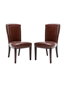 Safavieh Brown Accent Chairs Kitchen & Dining Furniture