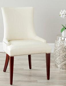 Safavieh Cream Dining Chairs Kitchen & Dining Furniture