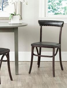 Safavieh Black Accent Chairs Kitchen & Dining Furniture