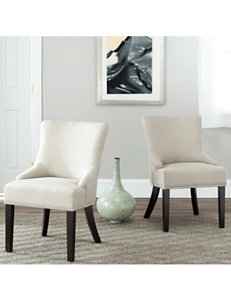 Safavieh Gold Accent Chairs Living Room Furniture