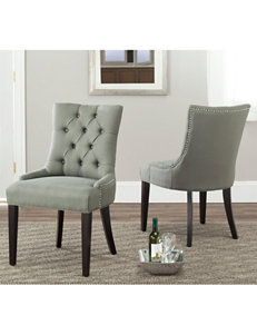 Safavieh Lester Bonded Leather Dining Chair