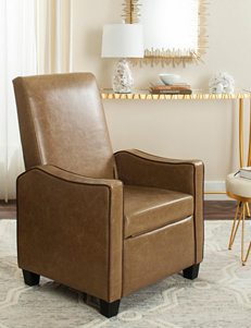 Safavieh Tan/Brown Accent Chairs Living Room Furniture