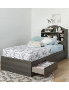 South Shore Grey Beds & Headboards Bedroom Furniture