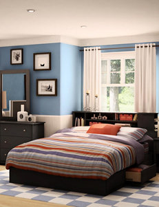 South Shore Black Beds & Headboards Bedroom Furniture