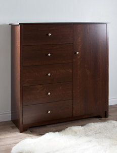 South Shore Cherry Dressers & Chests Bedroom Furniture