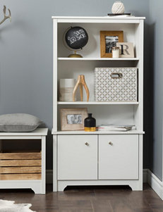 South Shore Pure White Bookcases & Shelves Bedroom Furniture