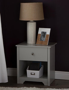 South Shore Grey Night Stands Bedroom Furniture