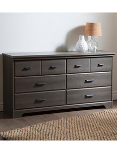 South Shore Gray Dressers & Chests Bedroom Furniture