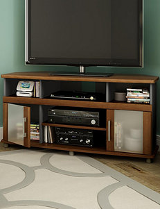 South Shore Morgan Cherry TV Stands & Entertainment Centers Living Room Furniture