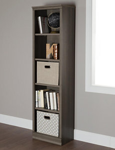 South Shore Gray Bookcases & Shelves Home Office Furniture
