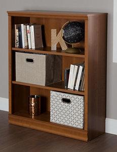 South Shore Morgan 3-Shelf Bookcase
