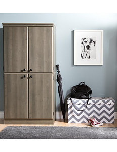 South Shore Gray Cabinets & Cupboards Living Room Furniture