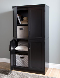 South Shore Black Cabinets & Cupboards Living Room Furniture