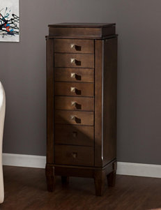 Southern Enterprises Grey Dressers & Chests Bedroom Furniture
