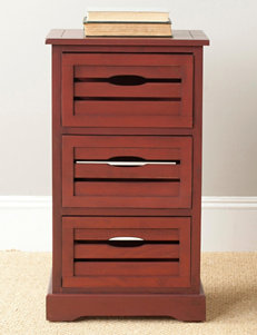 Safavieh Red Cabinets & Cupboards Living Room Furniture