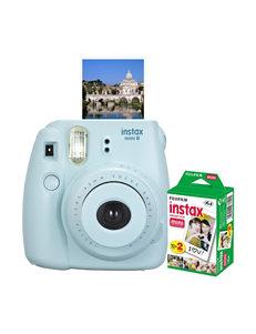 Fujifilm Instax Mini 8 Instant Photo Camera Bundle
