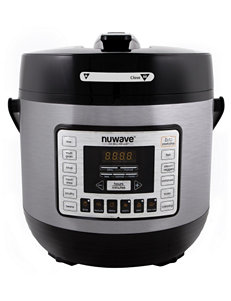 NuWave Black Pressure Cookers, Rice Cookers & Steamers Cookware Kitchen Appliances